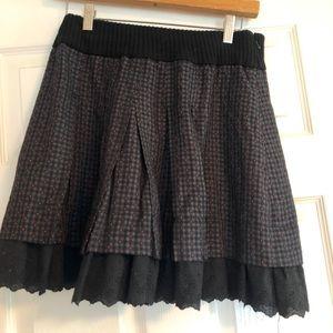 Free People skirt.